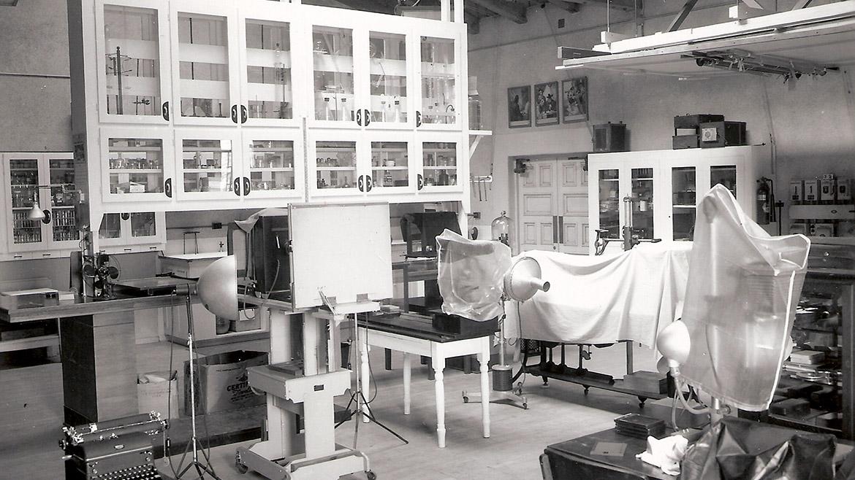 Police CSI Lab Room
