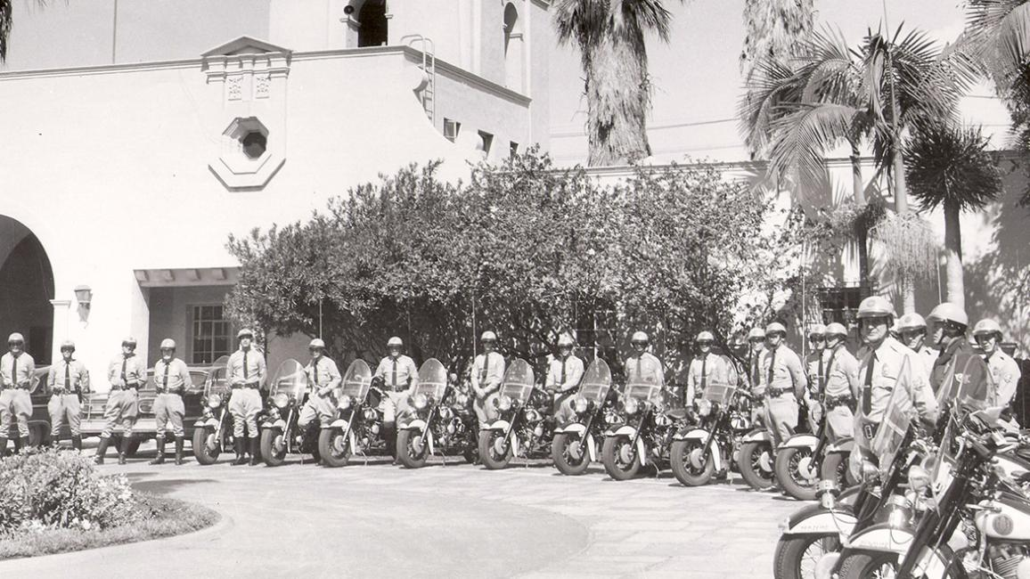 Police Officer Motorcycles